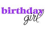 Birthday Girl - purple