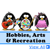 Hobbies, Arts and Recreation Penguins