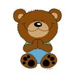 Cute Bear Prayer
