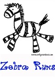 Zebra runs