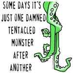 One tentacled monster after another