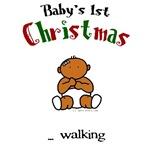 First christmas walking