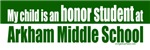 Honor student at Arkham middle