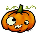 Silly, funny, pumpkin, Halloween