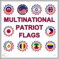 Multinational Patriot Flag Series