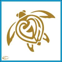Sea Turtle - Gold
