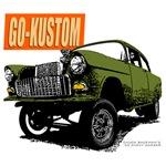 Chuck Backman's '55 Gasser