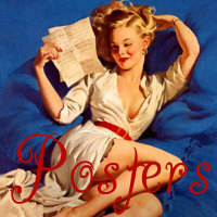 Elvgren and Pinup Posters and Prints
