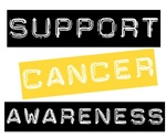 Support Cancer Awareness T-Shirts &amp; Gifts (Gold)