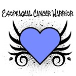 Esophageal Cancer Warrior Tattoo Shirts & Gifts