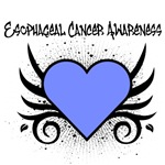 Esophageal Cancer Awareness Tattoo Shirts & Gifts