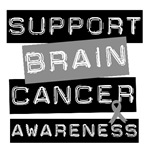 Brain Cancer Cancer Awareness T-Shirts &amp; Gifts