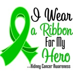 I Wear a Ribbon For My Hero Kidney Cancer Shirts