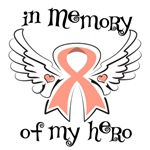 In Memory of My Hero Endometrial Cancer Shirts