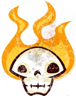 Flaming Skull of Doom