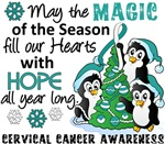 Cervical Cancer Christmas Cards and Gifts