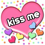 Candy Hearts Kiss Me