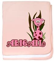 Baby Girl Pink Giraffe