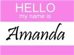 Hello My Name Is Amanda