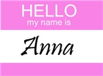Hello My Name Is Anna
