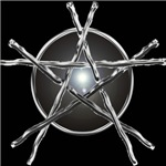 Silver Sticks Pentagram