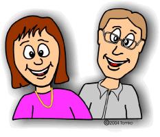 parents smiling