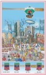Mud Hens All-Star Commemorative Poster #3