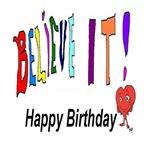 Happy Birthday Section Art Designs
