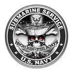 USN Submarine Service Bordered