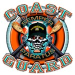 US Coast Guard Skull M-4s