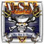 USN Skull and Anchors