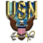 USN Navy Gold Eagle