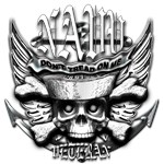 USN Veteran Skull Dont Tread