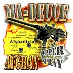 M-2 Ma Deuce Afghanistan Pepper Spray