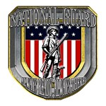 US Army National Guard Gold Shield