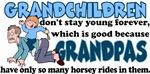 Grandpa's Horsey Rides