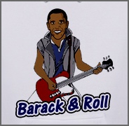 Barack and Roll Funny Obama Shirt