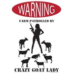 Funny Crazy Goat Lady Patrol