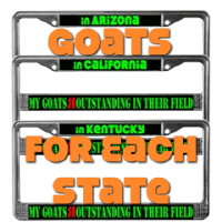 Goats by State