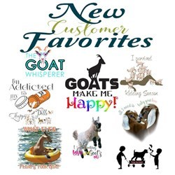 New! Goat Best Sellers