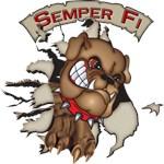 USMC Semper Fi Devil Dog