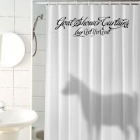 Animal Shadow Buddies Shower Curtains