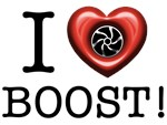 I heart Boost Turbo