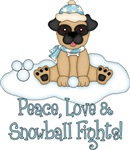 Peace Love and Snowball Fights