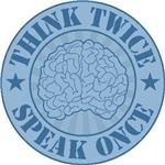 Think Twice badge