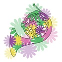 Flower Power Horn