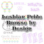 Lesbian Pride Designs / Lesbian Pride Wear