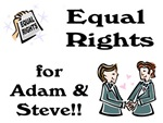 Adam & Steve Gay Marriage T-Shirts & Gifts