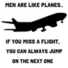 Men are like planes