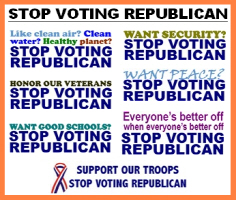 STOP VOTING REPUBLICAN
